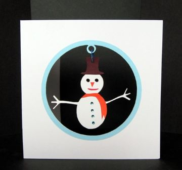 Swinging Snowman Template